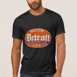 Vintage Detroit (diseño apenado) Camiseta