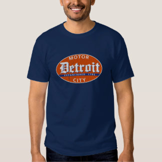 Vintage Detroit (distressed design) Tee Shirt