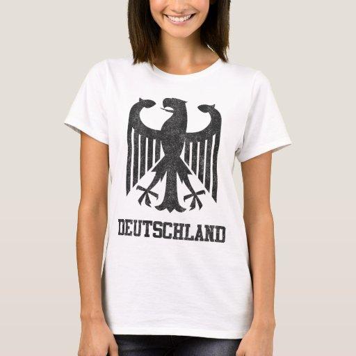 Vintage Deutschland Playera