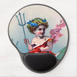 Vintage Devil Child Swan Gel Mouse Mats