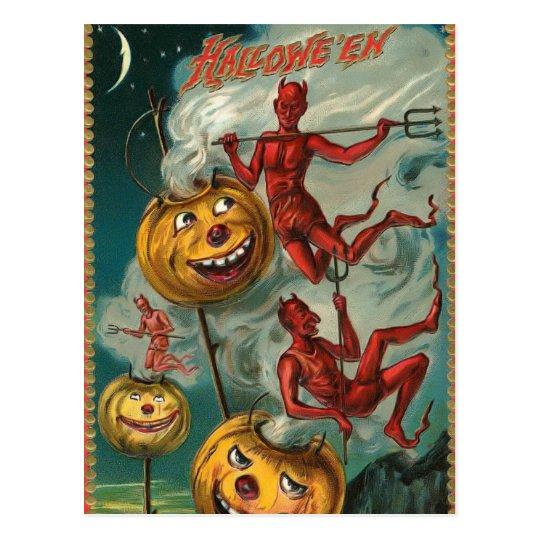 Vintage Devil Postcard