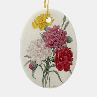 Vintage Dianthus - Photo Album Ceramic Ornament