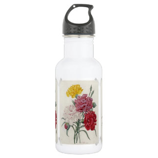 Vintage Dianthus - Photo Album Stainless Steel Water Bottle