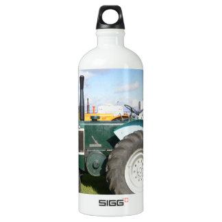 Vintage Diesel Tractor Aluminum Water Bottle