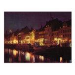 Vintage Dinamarca, Copenhague de la reproducción p Postales