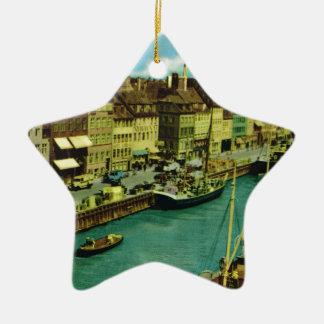 Vintage Dinamarca, costa de Copenhague Ornamente De Reyes
