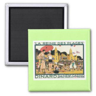 Vintage Dinard Holland Refrigerator Magnets