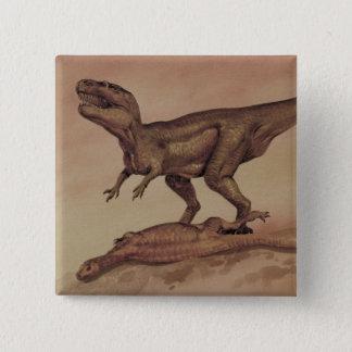 Vintage Dinosaurs, Carnivore Giganotosaurus Button