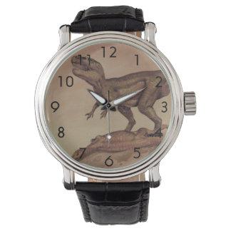 Vintage Dinosaurs, Carnivore Giganotosaurus Wristwatch
