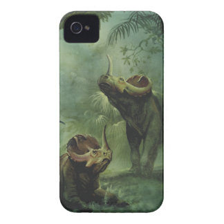 Vintage Dinosaurs, Centrosaurus in the Jungle iPhone 4 Cover