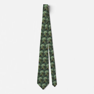 Vintage Dinosaurs, Centrosaurus in the Jungle Neck Tie