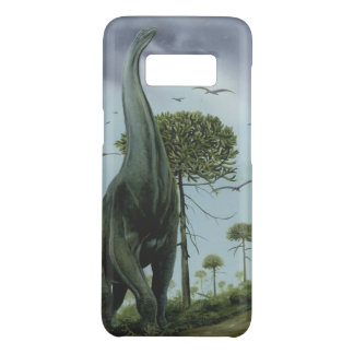 Vintage Dinosaurs, Sauroposeidon with Birds Flying Case-Mate Samsung Galaxy S8 Case