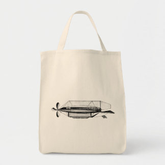 Vintage Dirigible Blimp Airship Bag