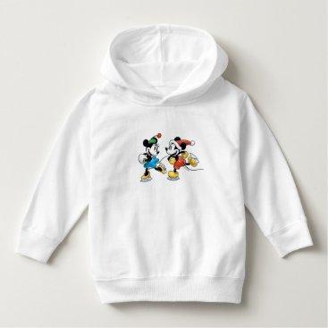 Disney Themed Vintage Disney | Mickey & Minnie Ice Skating Hoodie
