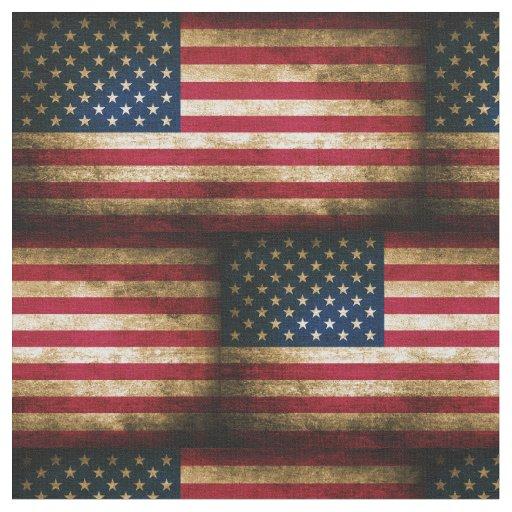 Vintage American Flag Decor