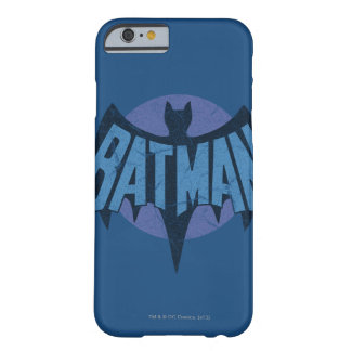 Vintage Distressed Bat Symbol Barely There iPhone 6 Case