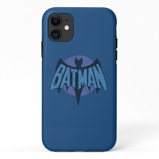 Vintage Distressed Bat Symbol iPhone 11 Case