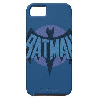 Vintage Distressed Bat Symbol iPhone SE/5/5s Case
