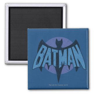 Vintage Distressed Bat Symbol Magnet