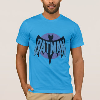 Vintage Distressed Bat Symbol T-Shirt