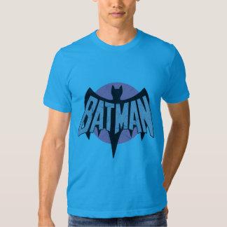 Vintage Distressed Bat Symbol Tee Shirt