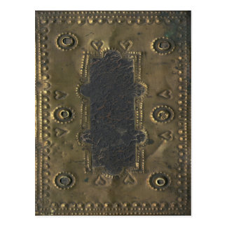 Vintage, Distressed Book Cover Postcard