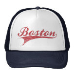Vintage Distressed Boston Ballpark Hat Trucker Hat