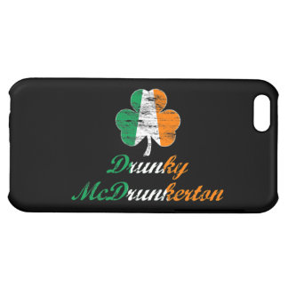Vintage Distressed Drunky McDrunkerton Cover For iPhone 5C