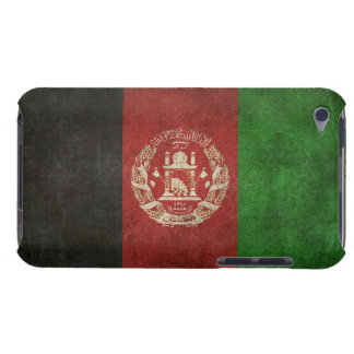 Vintage Distressed Flag of Afghanistan iPod Touch Cases
