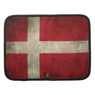 Vintage Distressed Flag of Denmark Organizers