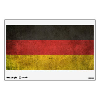 Vintage Distressed Flag of Germany Wall Decor