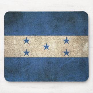 Vintage Distressed Flag of Honduras Mouse Pad