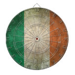Vintage Distressed Flag of Ireland Dart Boards