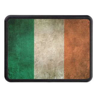 Vintage Distressed Flag of Ireland Hitch Cover