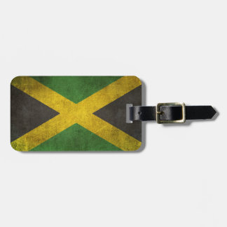 Vintage Distressed Flag of Jamaica Tag For Luggage