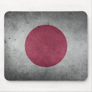 Vintage Distressed Flag of Japan Mouse Pad