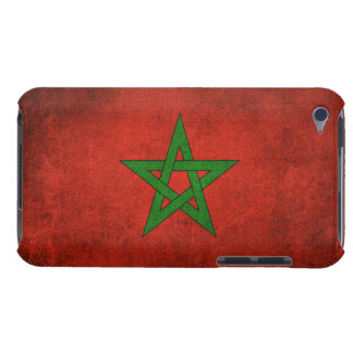 Vintage Distressed Flag of Morocco Case-Mate iPod Touch Case