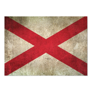 Vintage Distressed Flag of Northern Ireland 5x7 Paper Invitation Card