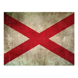 Vintage Distressed Flag of Northern Ireland Postcard