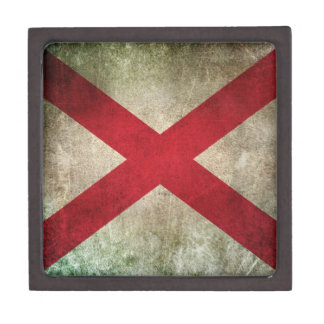 Vintage Distressed Flag of Northern Ireland Premium Gift Boxes