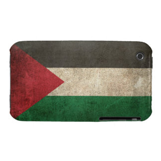 Vintage Distressed Flag of Palestine Case-Mate iPhone 3 Case