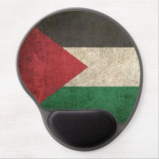 Vintage Distressed Flag of Palestine Gel Mouse Pad