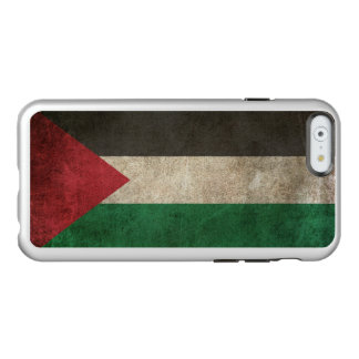 Vintage Distressed Flag of Palestine Incipio Feather® Shine iPhone 6 Case
