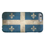 Vintage Distressed Flag of Quebec Barely There iPhone 6 Case
