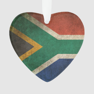 Vintage Distressed Flag of South Africa