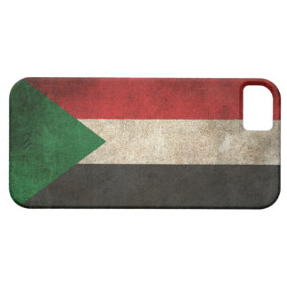 Vintage Distressed Flag of Sudan iPhone SE/5/5s Case