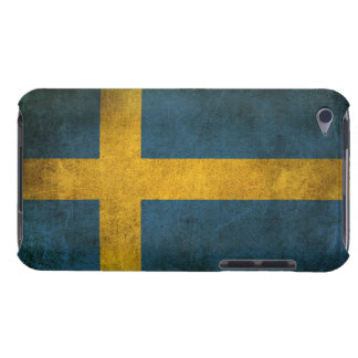 Vintage Distressed Flag of Sweden Barely There iPod Case
