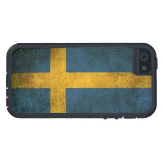 Vintage Distressed Flag of Sweden iPhone SE/5/5s Case