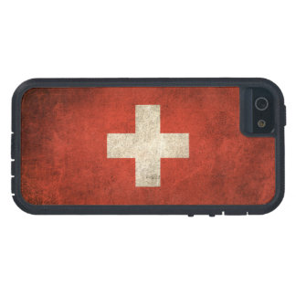 Vintage Distressed Flag of Switzerland iPhone 5 Cover