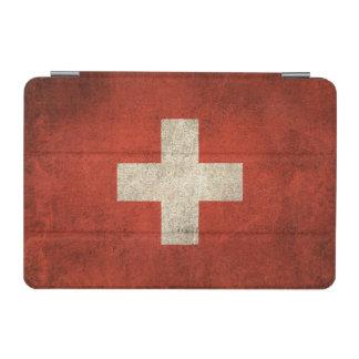 Vintage Distressed Flag of Switzerland iPad Mini Cover